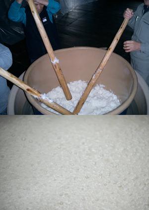 米、水、人イメージ